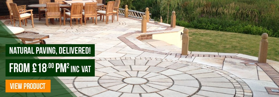 Natural Paving From £18